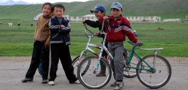 KAZAKHSTAN: Go towards the Chinese border for remote mountain tracks and plenty of friendly kids.