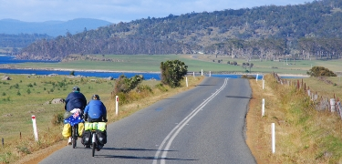 TASMANIA: If there was a heaven for touring cyclists, it would surely be the Australian island of Tasmania.