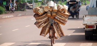 LAOS: Bicycles like this in Laos will make your touring bike seem light!