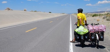 ROUTE PLANNING: Learn how to map out a route on the best roads for bike touring.